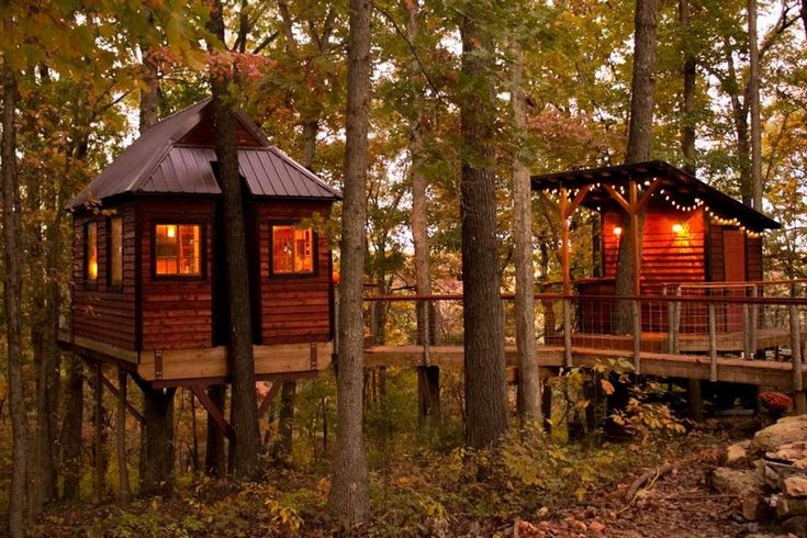 10 Acre Treehouse Roaring River State Park Mo