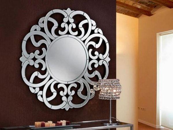 Mejores 96 im genes de recibidores en pinterest for Espejos redondos decorativos modernos