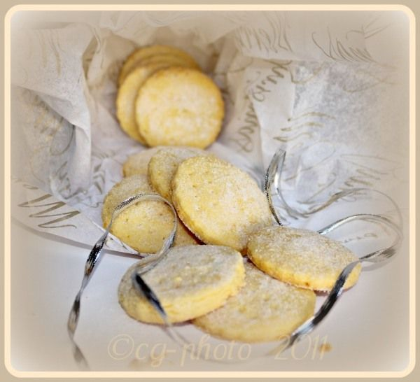Bay and Citrus Shortbread - Colleen's wonderful recipe is a winner for gifts and special tea-time treats