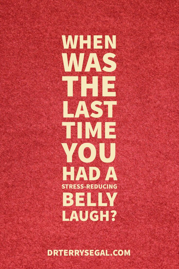 Retreat from Stress | When was the last time you had a stress-reducing belly laugh?