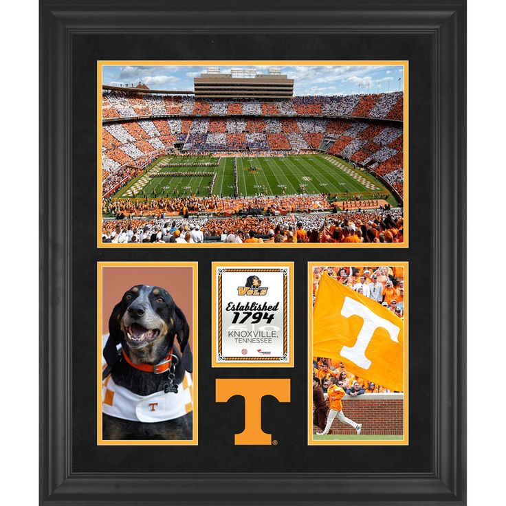 "Tennessee Volunteers Fanatics Authentic Framed 20"" x 24"" Neyland Stadium 3-Opening Collage"