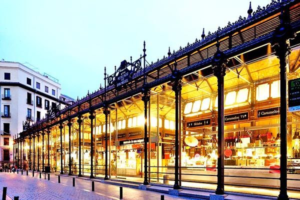 Mercado de San Miguel, Madrid, very foodie place.......................in Spain.