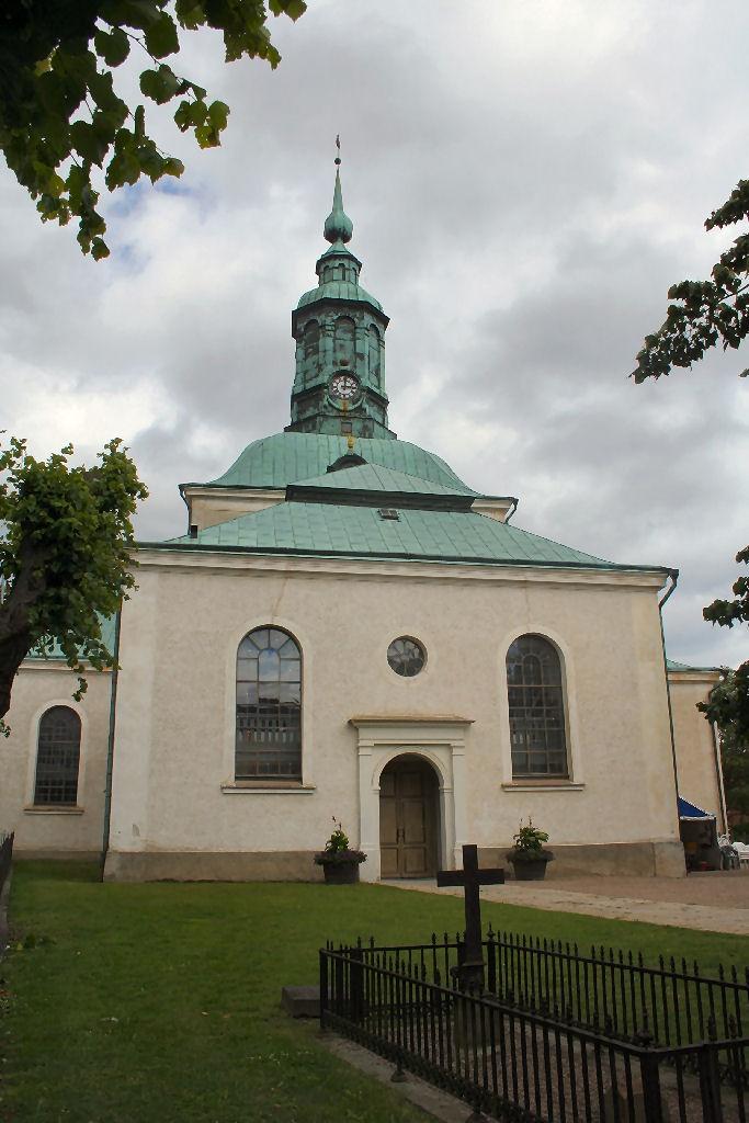 Great grandmother's church, Karlshamn Sweden