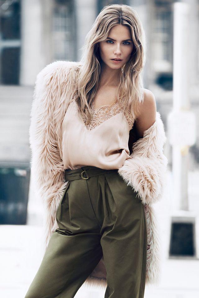 Stay warm in faux fur this season. #HMFallFashion