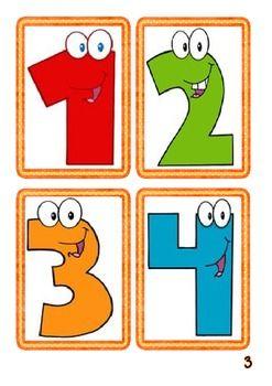 6 Big Math's Games Pack (numbers 0-10) - Math - CCA