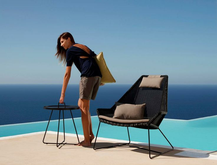BREEZE - HIGH BACK LOUNGE CHAIR + ON THE MOVE - TRAY TABLE  http://www.wgu.com.au/