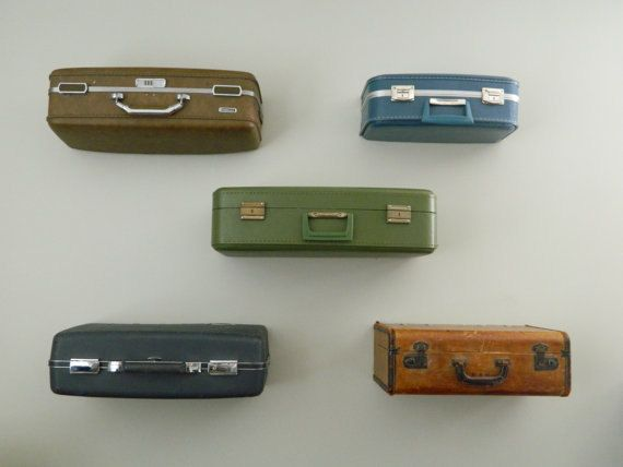 Vintage Suitcase Shelves / Suitcase Shelf Large / Suit Case Shelving / Suitcase Display