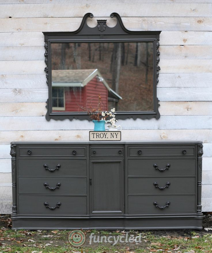 Antique Dresser Set For Sale – Tuesday's Treasures – FunCycled - 428 Best FunCycled Painted Furniture Projects Images On Pinterest