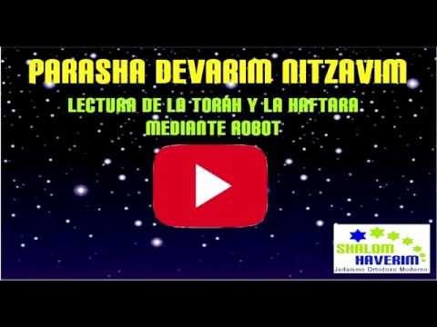 AUDIO VIDEO NITZAVIM - DEVARIM 28 AL 30 E ISAIAS 61