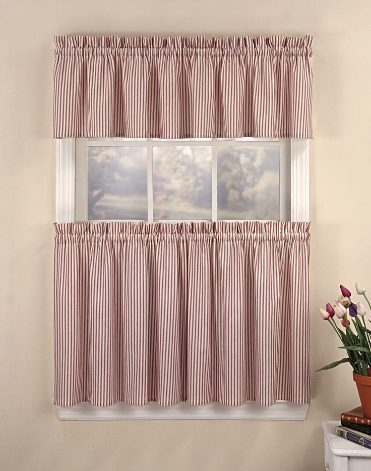 Curtain Ideas, Kitchen Curtain Ideas. Tier CurtainsHalf Window ...