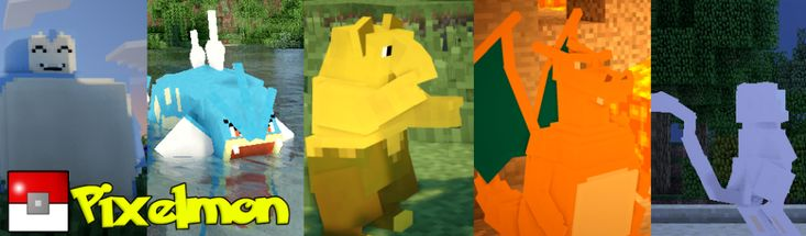 Pixelmon | The amazing Pokemon mod for Minecraft Pixelmon mod website :D http://pixelmonmod.com/blog/