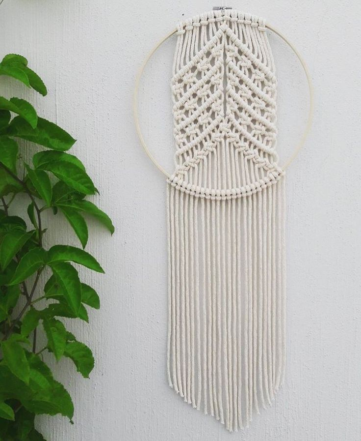 901 Best Micro Macrame Wall Art Images On Pinterest