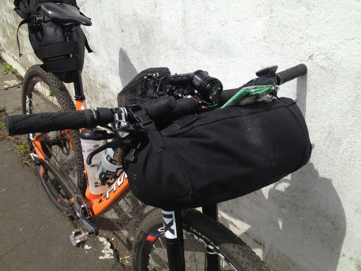 Gear with emphasis on lights setup and no center frame bag with bladder/hose rather bottles and cages*. said to be easier and faster.