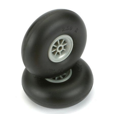 2 1/2 DIA SMOOTH SURFACE WHEELS by Dubro. $9.41. 2 1/2 DIA SMOOTH SURFACE WHEELS