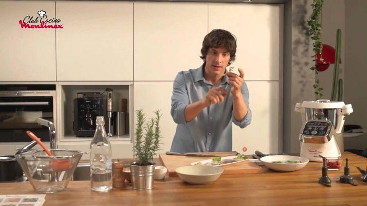 Cuisine Companion y Jordi Cruz - Crema de marisco con gambas salteadas