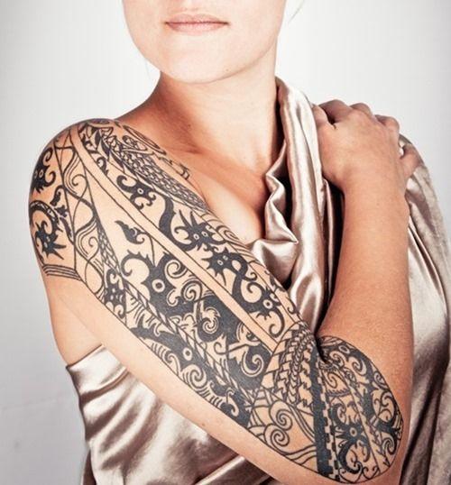 17 Best Ideas About Women Tribal Tattoos On Pinterest: 25+ Best Ideas About Sleeve Tattoo Women On Pinterest