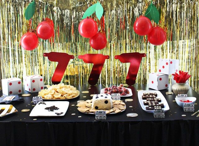 Food Ideas For Casino Themed Party