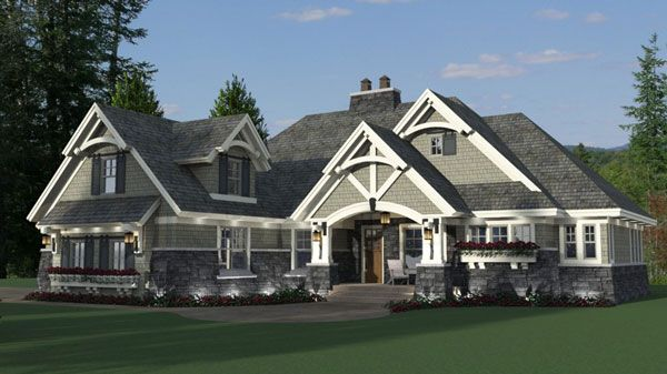 8 best images about great master suites on pinterest a for House plans with great room in front