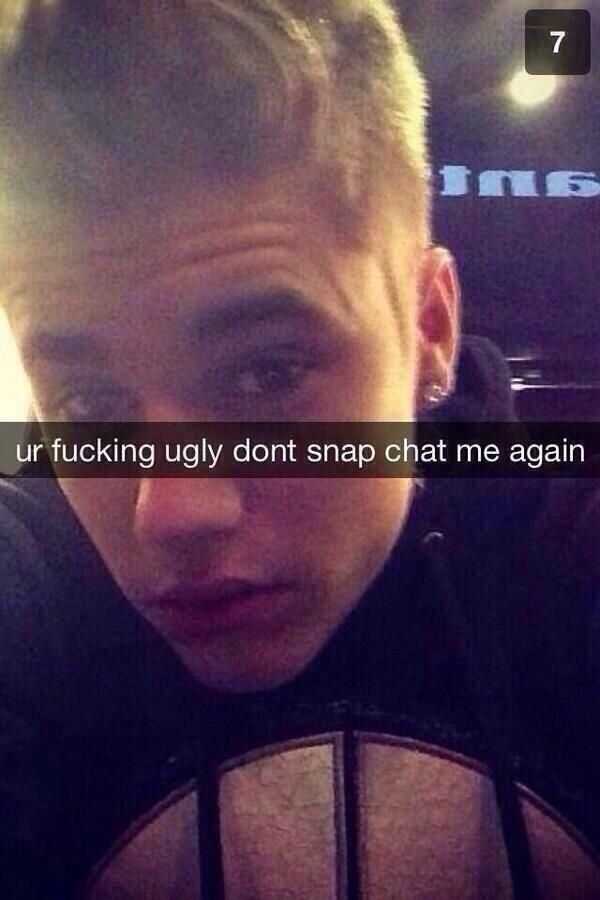The connoisseur. | 17 People Who Should Never Be Allowed To Use Snapchat Again, anybody realize this is justin beiber