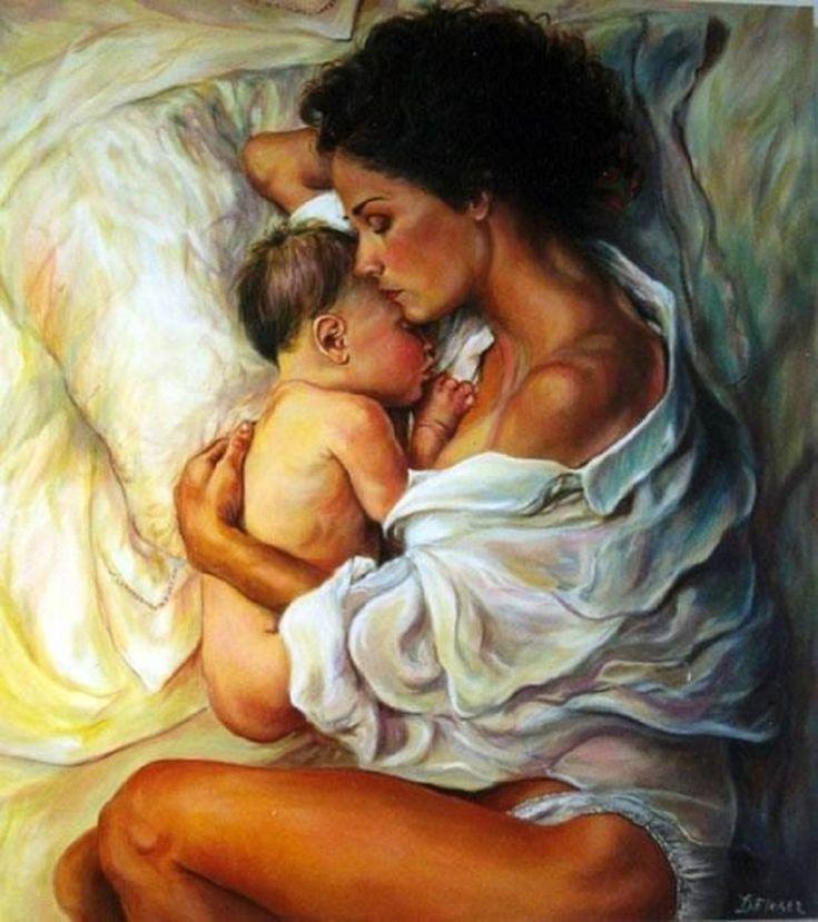 Открытка новым, мама с сыном картинки нарисованные