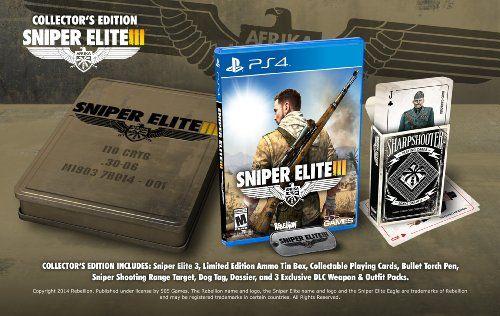 Sniper Elite III: Collector's Edition - PlayStation 4 Collector's Edition - Available at Amazon.