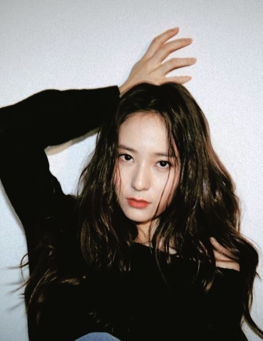 Soojung's bitch-rest-face