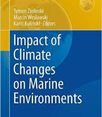 Impact Of Climate Changes On Marine Environments PDF