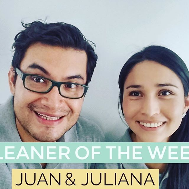 *DRUMROLL* It's our 'Cleaner of the Week' time again.  Our (very) well deserved winner goes to the wonderful-cleaning-expert-extraordinaires…Juan & Juliana! We have received 100% positive feedback from all their customers.. (and our MotherDuck team just love them!), so it was only a matter of time until this crew scooped our 'Cleaner of the Week' award. See what customers are saying..http://familyclean.com.au/smile/ #weloveourcrews #bestcleanersinbrisbane #ravingreviews #crewoftheweek…