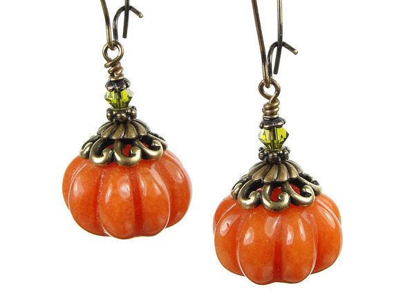Autumn Pumpkin Earring Kit