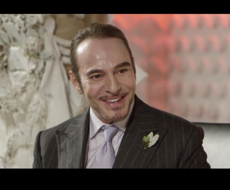 "John Galliano at the Vogue Festival, ""Master Of Couture""  talk with Alexandra Shulman ,26 April 2015 ,London"