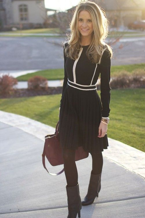 stylish-women-office-worthy-outfits-for-winter-2014-2015- 13