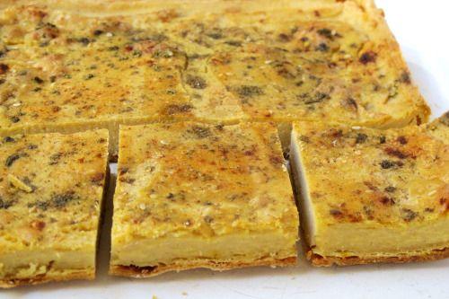 Para una versión marroquí de la fainá, enriquecida, vean la receta del Kalinti (click aquí).
