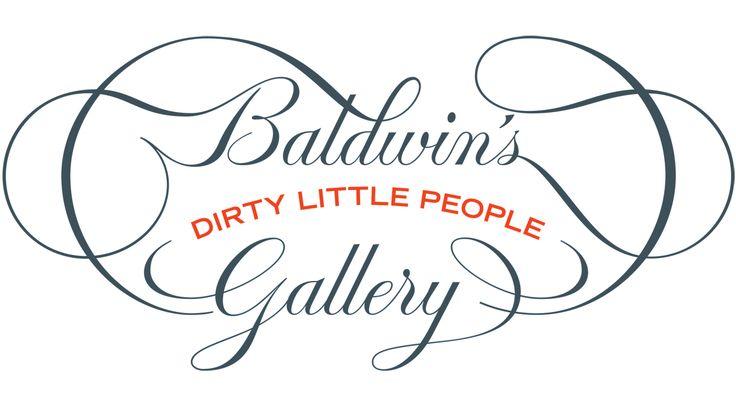 Baldwin's Dirty Little People Art Gallery Logo