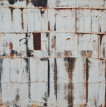Saatchi Online Artist Paul Van Rij; Painting, Fences 5