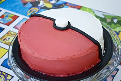 Pokemon birthday party ideas - I think I could actually handle this cake myself.
