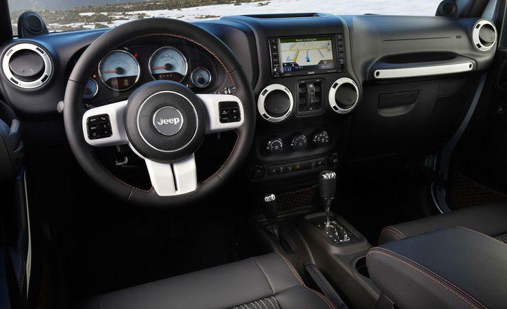 2014 Jeep Wrangler Unlimited Interior