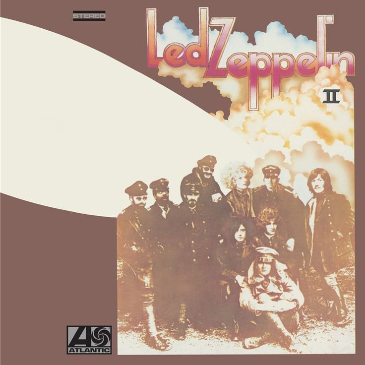 Led Zeppelin Led Zeppelin II on 180g Vinyl LP Meticulously Remastered from the Original Master Tapes by Jimmy Page and Pressed at Pallas: Sounds Better Than Any Prior Led Zeppelin II Pressing, Faithfu