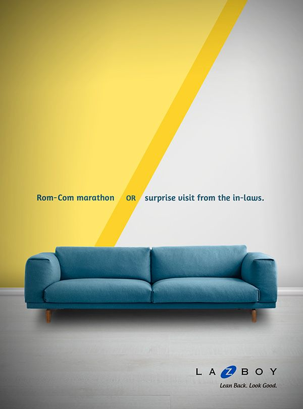 Lazboy Campaign on Behance