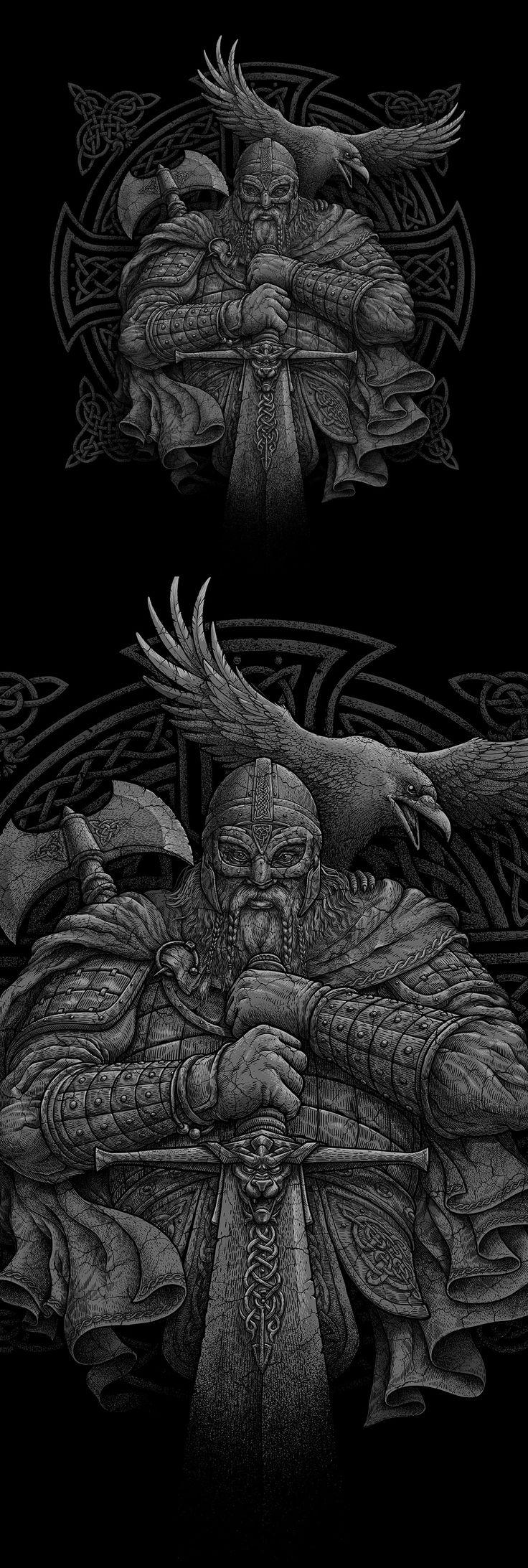 Viking, Иллюстрация © ОлегГерт