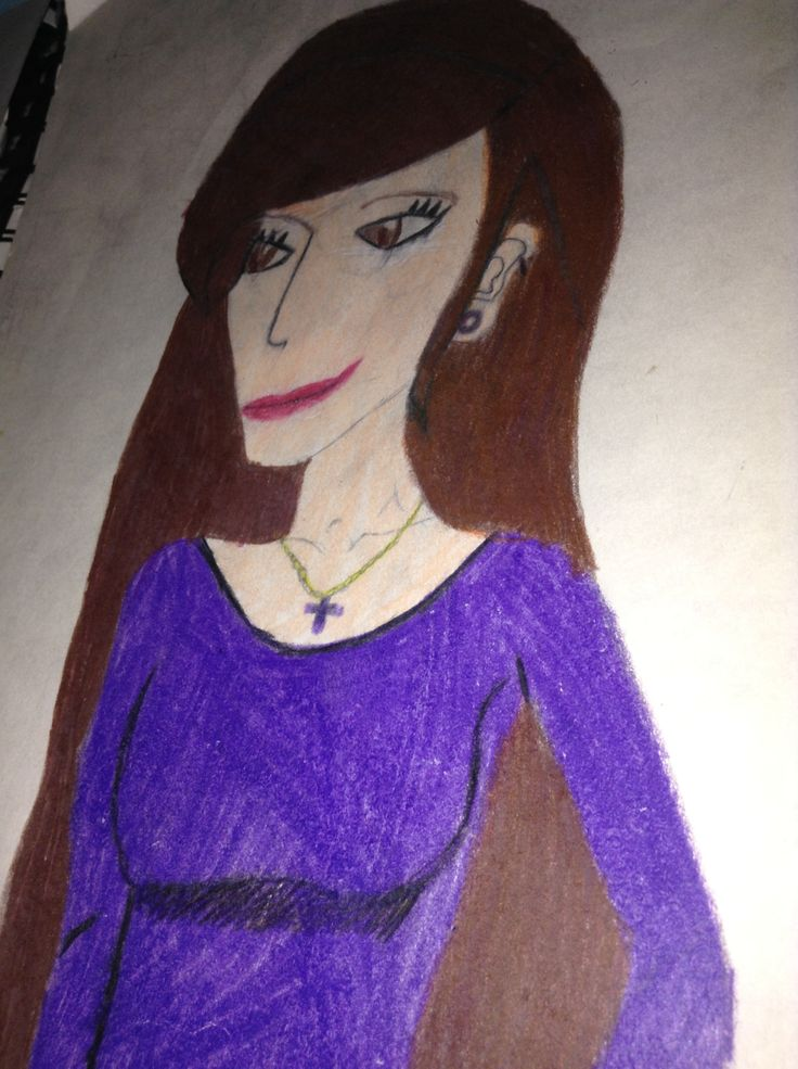 This is a drawing of Anna Kendrick.