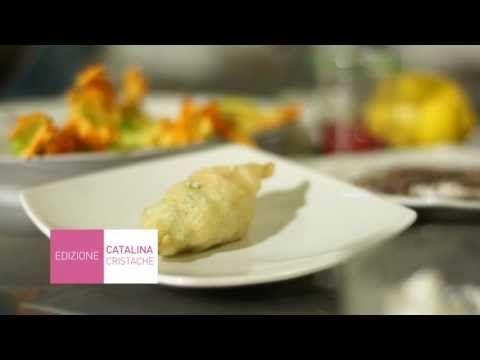 """Video recipe: zucchini flowers  www.mindnotizie.it follow me on youtube """"Mindnotizie"""""""