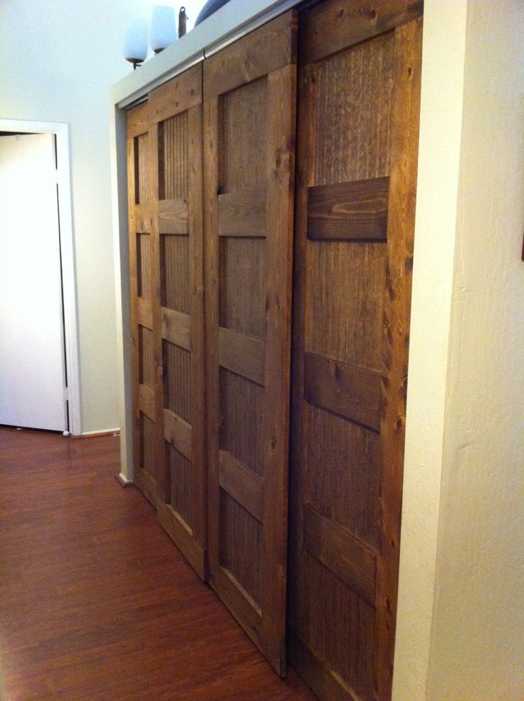 66 best pantry doors images on pinterest pantry doors - Bypass closet doors for bedrooms ...