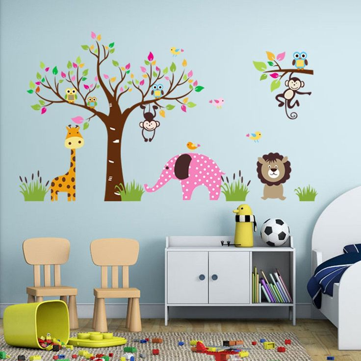 Each Owl Tree Nursery Wall Decal is made of high quality, self-adhesive and waterproof vinyl. Our vinyl is rated to last 5 years outdoors and virtually forever indoors. Decals can be applied to any cl