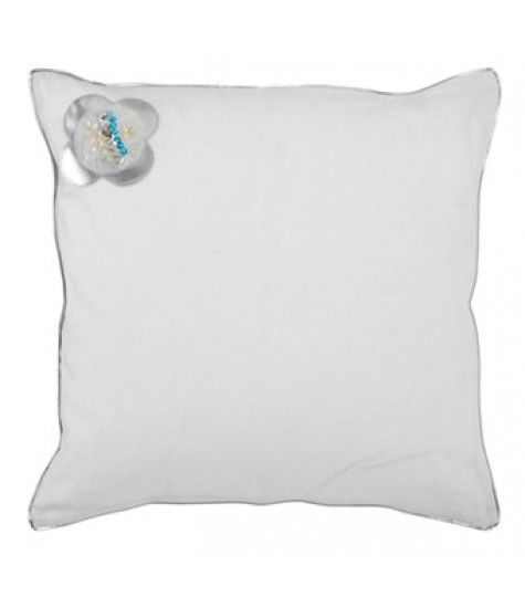 Complete your SilverSparkle cushion set with this square pillow. dimensions: W0.50 X D0.50cm
