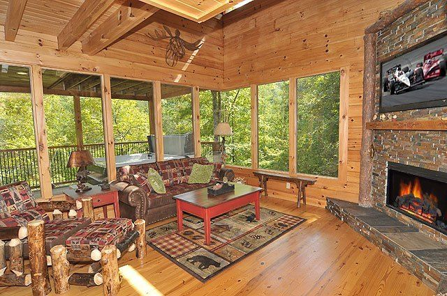 12 best cabin specials discounts images on pinterest for Smoky mountain cabin specials