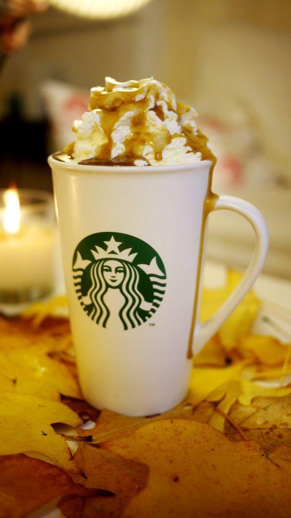 Salted Caramel Hot Chocolate | Wintertime Warm Ups ~Drinks | Pinterest