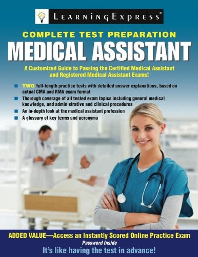 Bestseller Books Online Medical Assistant Exam: Preparation for the CMA and RMA Exams (Medical Assistant: Preparation for the CMA & Rma Exams) LearningExpress Editors $26.37  - www.ebooknetworki...
