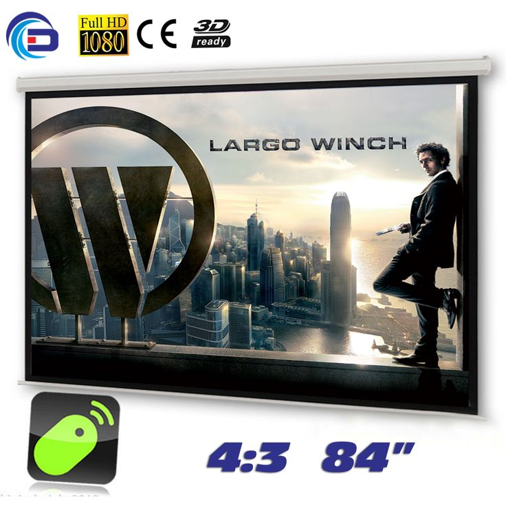 84 inches 4:3 Electric Motorized Matt White Projector Screen pantalla proyeccion for LED LCD HD Movie Projection Screen //Price: $136.99 & FREE Shipping // http://swixelectronics.com/product/84-inches-43-electric-motorized-matt-white-projector-screen-pantalla-proyeccion-for-led-lcd-hd-movie-projection-screen/    #hashtag3