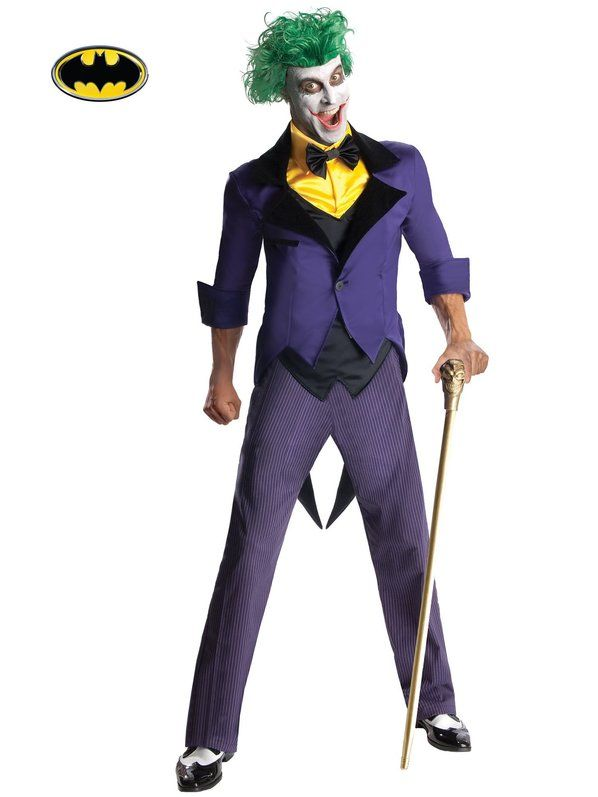Check out Men's Joker Costume - Batman Costumes for Kids & Adults from Wholesale Halloween Costumes