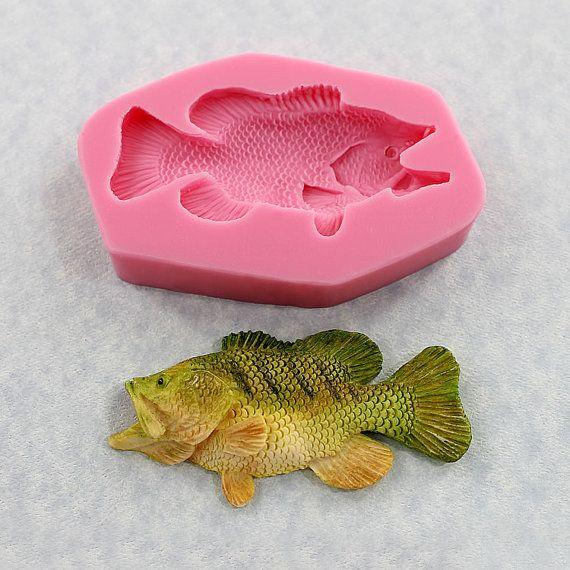 Bass Fish Cake Mold